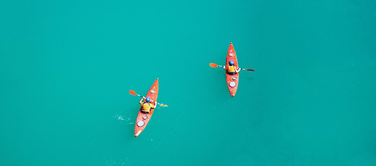 Alimentazione e sport, canoa