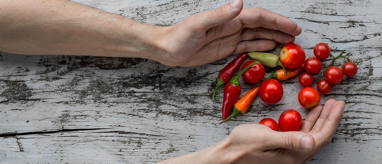 Alimetazione Vegetale, pomodori