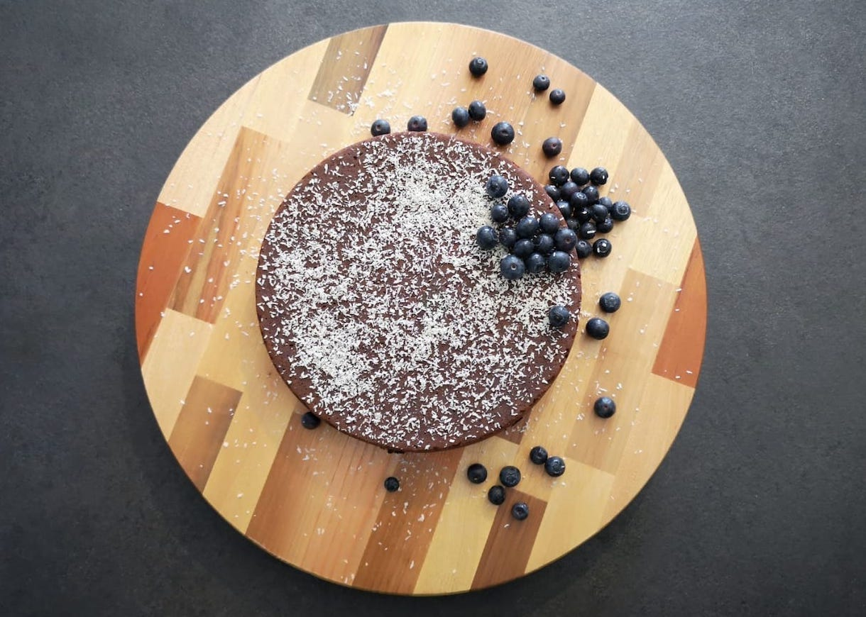 Torta la cioccolato e cocco